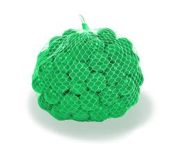 Upper Bounce Crush Proof Plastic Trampoline Pit Balls 100 Pack - Green