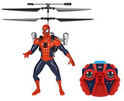Marvel Licensed Ultimate Spider-Man Vs The Sinister 6 Jetpack 2CH IR RC Helicopter MLUSVTSJH