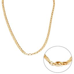 """18K Gold Filled  Gold 24"""" Gucci Link Chain Necklace"""