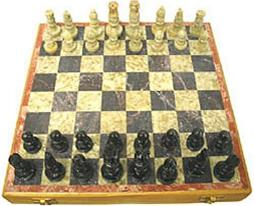 carved Soapstone 10-in. chess Set carved Soapstone 10-in. chess Set