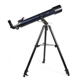 Levenhuk Strike 80 NG Refactor Telescope for Beginners with Astronomy Book, Space Posters, Start Chart and Compass in The Kit