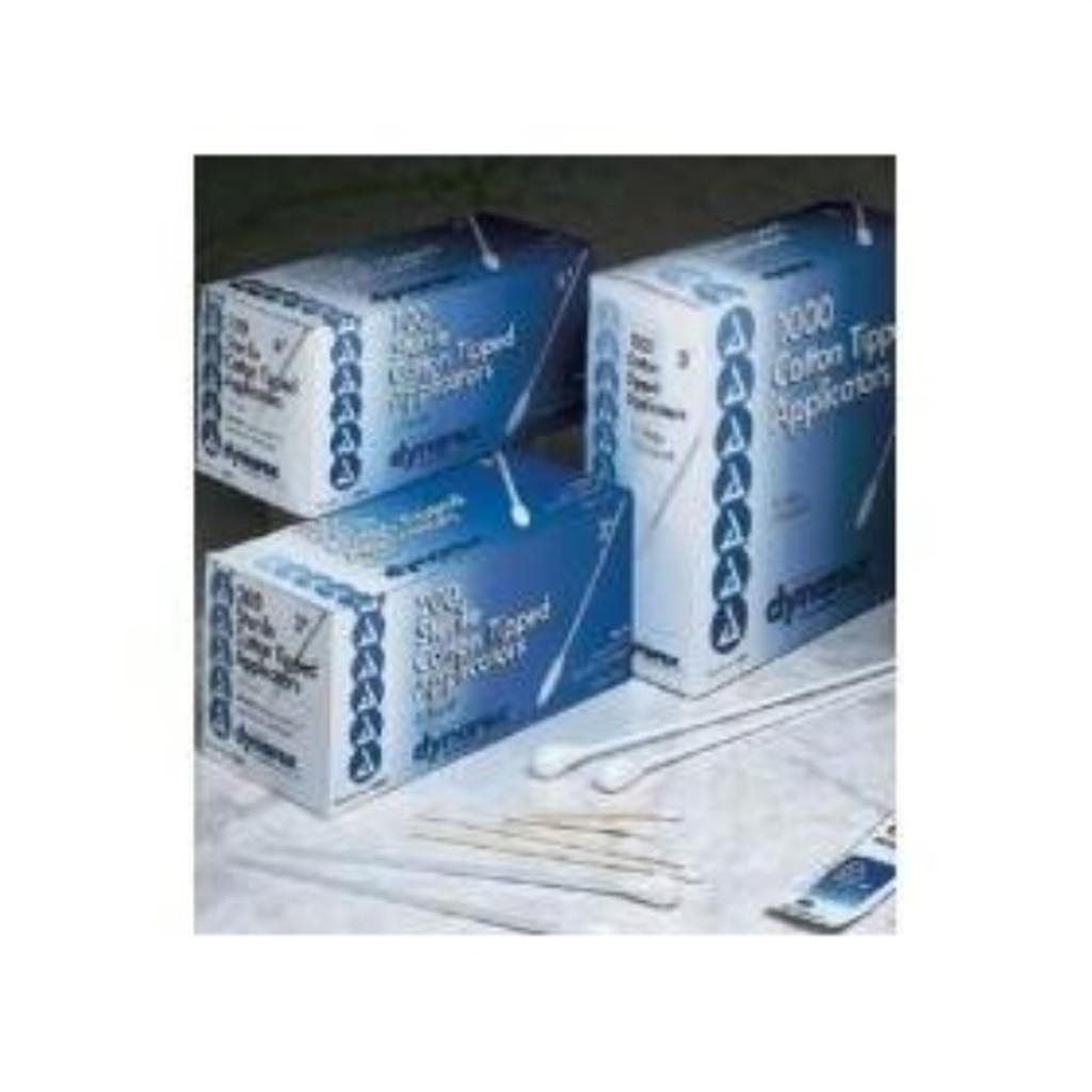 "Cotton Tip Applicator 6"" 2's Sterile 100/box"
