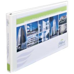 Avery Heavy-Duty View Binder, White with 1-Inch One Touch EZD Rings, 11 x 17 Inches, 1 Binder, White (72120)
