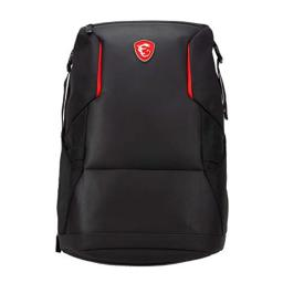 MSI Urban Raider gaming Laptop Backpack, Quick Access, Padded Mesh, Lightweight Polyester Exterior, Fits Up to 17 Laptop, Water