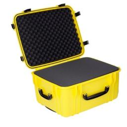 Seahorse SE1220 Protective Wheeled Case with Foam (Yellow), Large