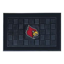 FANMATS NCAA University of Louisville Cardinals Vinyl Door Mat