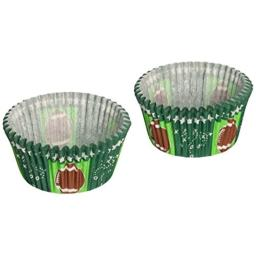 CupcakeCreations BKCUP-8978 Standard Cupcake Baking Cup Football 32-Pack