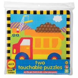 ALEX Toys Early Learning 2 Touchable Puzzles, On The Go