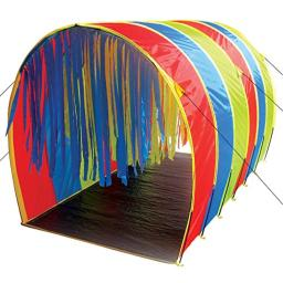 """Pacific Play Tents 95100 Kids Tickle Me 9.5-Foot Giant Institutional Crawl Play Tunnel, 9.5"""" x 5.5' x 6'"""