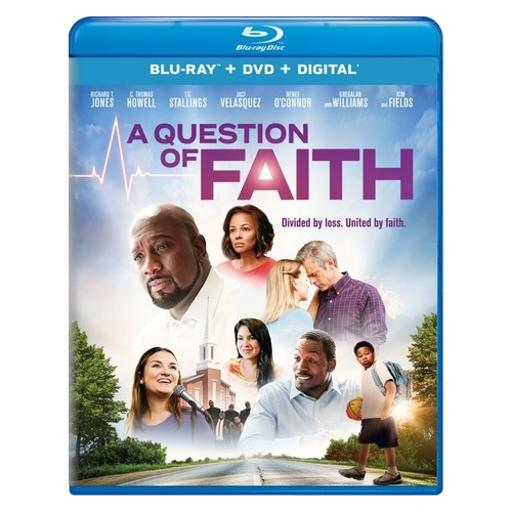 Question of faith (blu ray/dvd w/digital) RXLBY7V9ZMOCM8QR