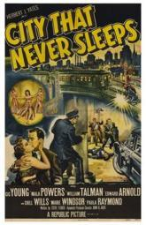 City That Never Sleeps Movie Poster (11 x 17) MOV232428