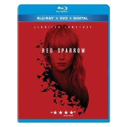 Red sparrow (blu-ray/dvd/dhd/ws/dts-hd/dd5.1/eng-spa-fre subtitles) BR2341800