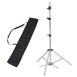 "Hair Salon Adjustable 63"" Stainless Steel Tripod Stand Cosmetology Mannequin Training Head Holder Hairdressers Trainees"