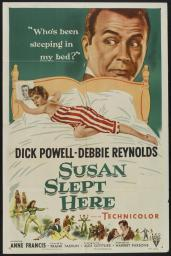 Susan Slept Here Movie Poster (11 x 17) MOVAB52380