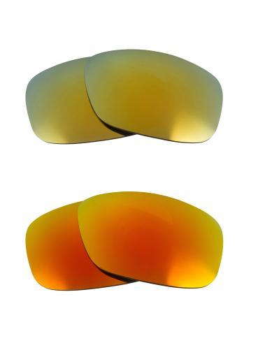 Best SEEK Replacement Lenses for Oakley SQUARE WIRE (2006) Yellow Green Mirror