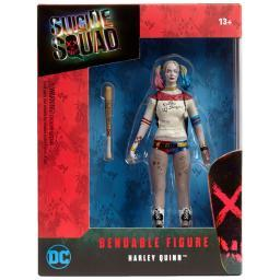 "Harley Quinn Suicide Squad Bendable Figure Batman DC Super Hero 5.5"" Gotham"