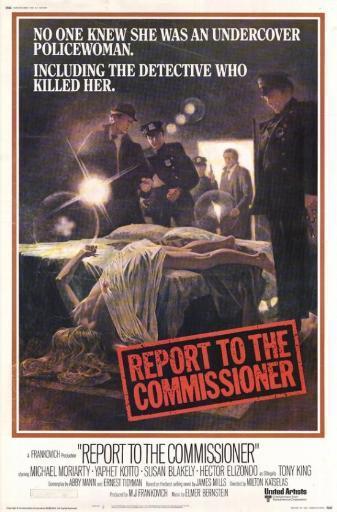 Report to the Commissioner Movie Poster Print (27 x 40) 6YEHIV6TV8T2ADCG