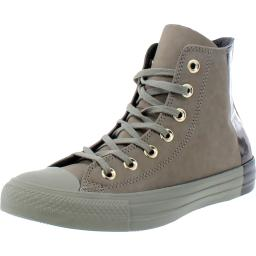 Converse Mens All Star Blocked Colorblocked High Top Fashion Sneakers