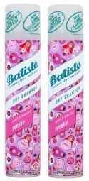 Batiste Dry Shampoo Sweet & Delicious Sweetie 2 Bottle Pack