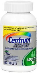 Centrum Silver Tablets, Adults 50+ - 150 Ct
