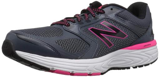 New Balance Womens W560v7 Running Shoe Fabric Low Top Lace Up Running Sneaker