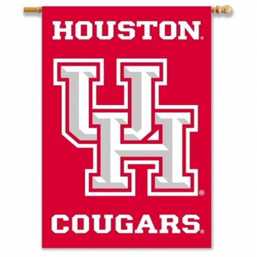 BSI PRODUCTS 96087 2-Sided 28 in. X 40 in. Banner with Pole Sleeve - Houston GAX7VNXIRE0KX33W