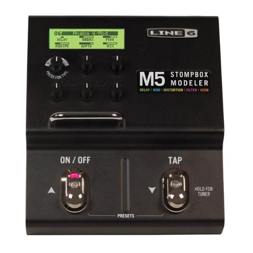 Line 6 122096 M5 Stompbox Modeler Guitar Multi-Effects Pedal