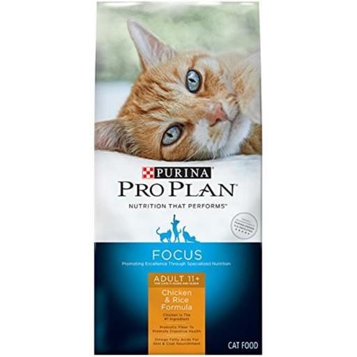 Purina Pro Plan 381341 3.2 oz Pro Plan PRM Plse Chicken & Rice Plse 7 Cat - Pack of 6