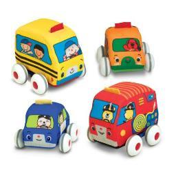 Melissa & doug 9168 pull-back vehicles