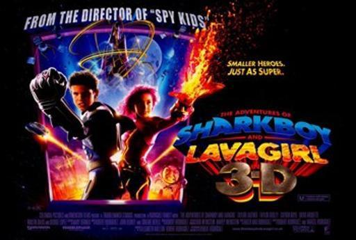 The Adventures of Shark Boy & Lava Girl in 3-D Movie Poster (17 x 11) EJIYA9PSTTMSKM8C