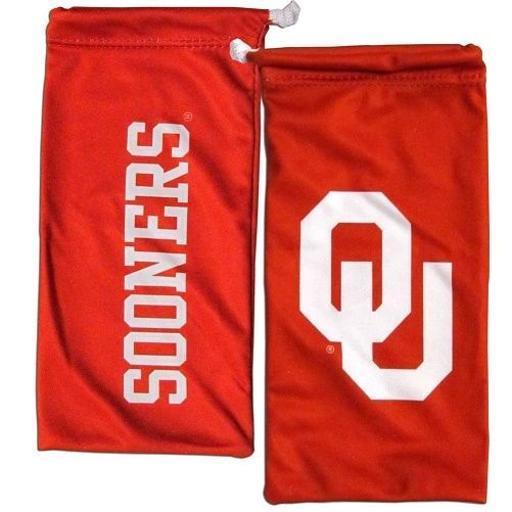 Oklahoma Sooners NCAA Microfiber Glasses Bag