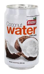 Badia - Coconut Water with Pulp - 10.5 fl. oz.