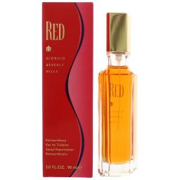 Red by Beverly Hills, 3 oz EDT Spray for Women