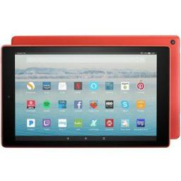 Amazon B01N9FJM6E Fire HD10 Tablet with Alexa 64 GB Punchred