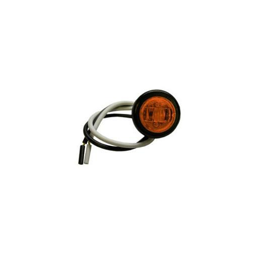 Tiger Accessories B534A2 3 4 Led Round Clearance And Side Marker Light Kit Amber