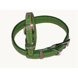 a-pets-world-03011303-12-leather-dog-collar-green-hot-pink-saddle-stitch-8selvo0bcg4bgocs