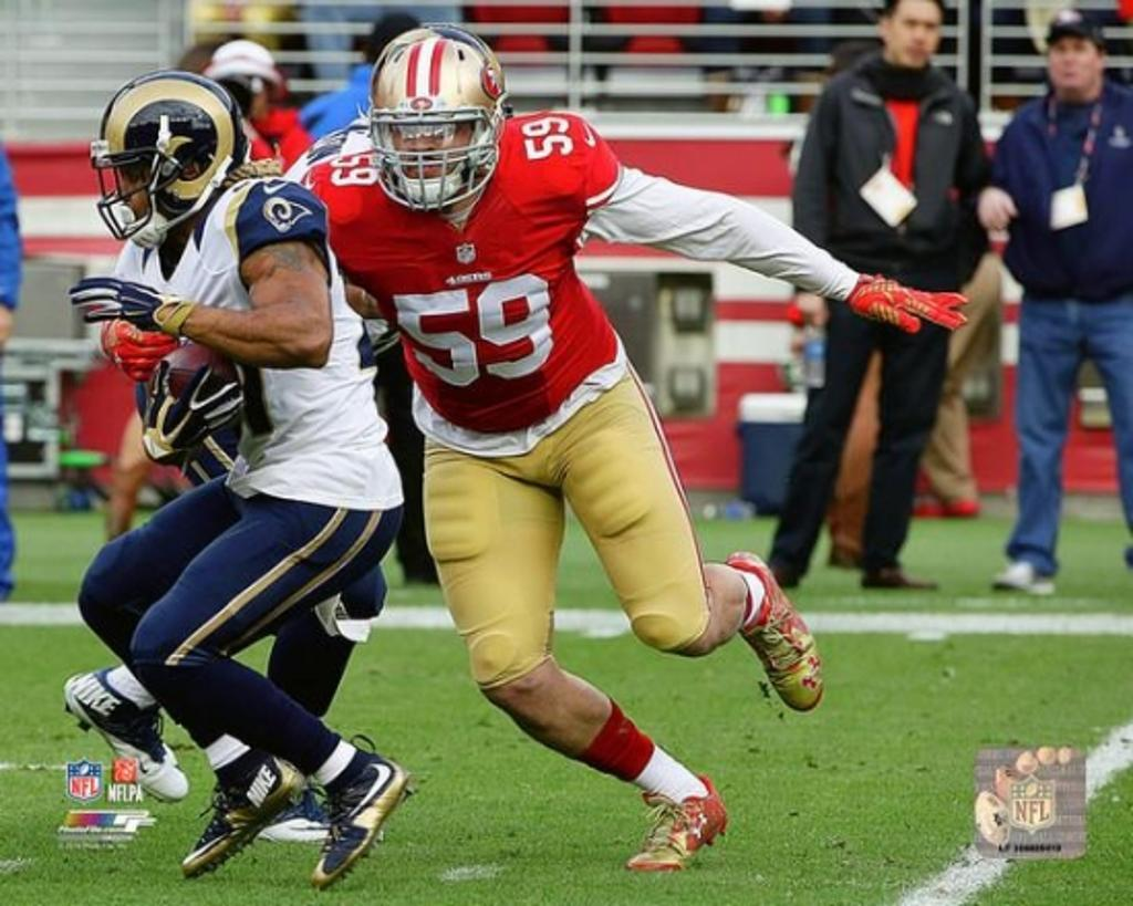Aaron Lynch 2015 Action Photo Print