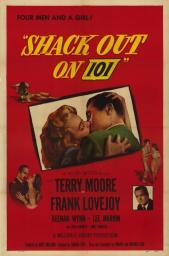 Shack Out on 101 Movie Poster (11 x 17) MOVIE8998