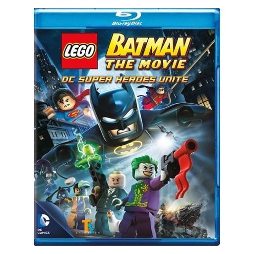 Lego batman-movie dc superheroes unite (blu-ray/dvd/2 disc/with toy) PGDPIJMJORPRIKNT