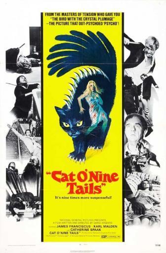 The Cat o' Nine Tails Movie Poster Print (27 x 40) F2PFFQVHH0MHQVCA