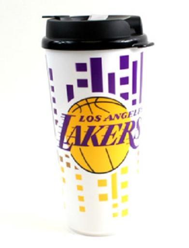 Los Angeles Lakers NBA 32 Ounce Plastic Tumbler