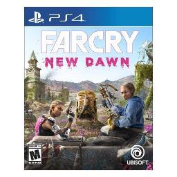 Playstation 4 Far Cry New Dawn