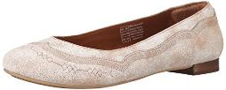 Ariat Women's Dreamer Ballet Flat, Weathered White, 6.5 M US