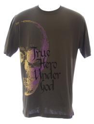THUG Men's Safari True Hero SS Graphic Crew Neck Cotton T-Shirt #12607 NEW