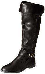 Bella Vita Women's Romy II Winter Boot, Black Faux Leather, 5.5 M US