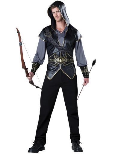 Incharacter Costumes Men'S Hooded Huntsman Costume, Grey/Black, Medium RYGH1FRPPLX3FTVI
