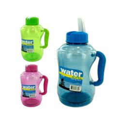 Water bottle with flip straw - Case of 16