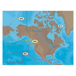 C-MAP NA-M025C MAX Wide, Canada W. Coast+Puget, C-Card