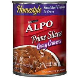 Purina ALPO Brand Dog Food 011032 13.2 oz Dog Prime Slices Roast Beef - Pack of 12