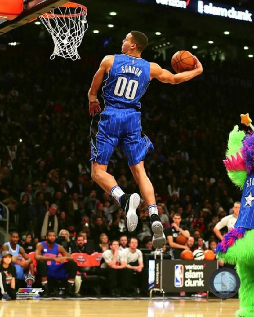 Aaron Gordon Slam Dunk Contest 2016 NBA All-Star Game Photo Print
